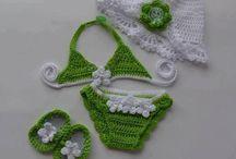 Dress crochet / Babys