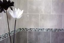 Shower & Bathroom Tiles / Even though we are just part of your bathroom project we know how important the look of your bathroom is to get right. Here are some of our favourite designs that we think would look great with a Mira Shower!