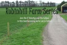 Robinhill Farm Series / Join the O'Dohertys and the Cullens on Robinhill Farm. Their lives, loves, hopes and disappointments all come to life in this new Contemporary Romance series. First book - Honor's Debt - out now with Secret Cravings Publishing. Book 2 - Honor's Promise is due out July 13, 2015.
