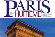 Paris 8e - Le mag' / Toutes les Unes du magazine Paris 8e - Mensuel d'Informations Locales