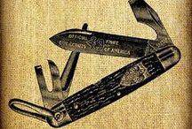 Knives: Vintage & Antiques