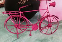 Pink Bicycles for Breast Cancer / In honour of woman with breast cancer