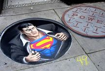 Chalk Art Illusions / A tribute to the exceptional artists who produced these exceptional artworks.