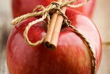 ༺❤️༻ Apple A Day ❤️ Recipes / Fres from the Orchard ..Apples & all types of Recipes : Hot Apple Cider , cupcakes, desserts, cakes, cookies, bars s,. Apple Breads, Desserts ,Caramel Apples.. Enjoy the  spirit of #Apple season & bake along with us in ALL the  Flavors of #Apples & #Fall & #autumn offers...Celebrate the harvest with these #Apple #Recipes! .  .Yumminess is in the air! #apple #apple  #recipes #recipes