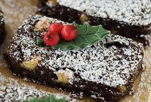 Food: Christmas & Fruit Cakes