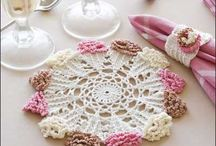 Tablecloth and rug crochet