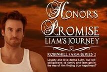 Book:  Honor's Promise :::: Liam's Journey / Book 2 in the Robinhill Farm Series