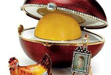 Faberge Eggs / A tribute to the exceptional artists who produced these exceptional artworks.