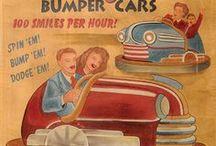 Bumper Cars art deco