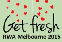 #RWAus15 RWA Conference / Sadly I can't attend this year, so here's my take from afar.