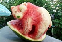 Food Art / A tribute to the exceptional artists who produced these exceptional artworks.