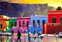 Nasser N. Zadeh, Cape Town artist / A tribute this exceptional artist and his exceptional artworks.