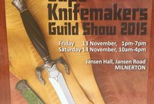 Knives: 2015 Cape Knifemakers Guild Show / Cape Knifemakers Guild Show 2015 - a real treat of craftsmanship on show.