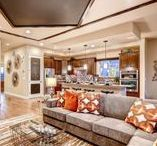 Re-Think Your Living Room / Inspired living room trends for residents at The Lakes at Centerra.