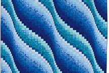 Quilt Bargello wave