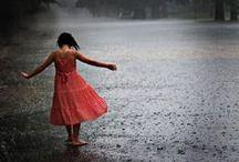 Let In The Rain...