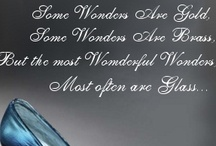 Some Wonders Are Glass...