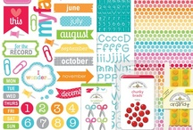 Doodlebug's Take Note Collection / I'm so in love with this collection!