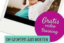 De Groeten aan MOETEN / Mijn GRATIS online video cursus voor vrouwen die klaar zijn met MOETEN www.stralendevrouw.nl