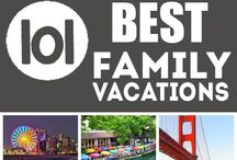 Family Vacation Ideas / Take the kids on a trip! Tips and ideas for unforgettable family vacations.