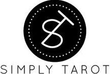 Simply Tarot / A shiny new logo for our Tarot start-up www.simplytarot.com