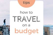 Budget Travel / These are tips for traveling on a budget.
