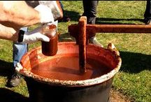 Apple Butter Celebration / Held annually in September at Skyland (mile 41.7 and 42.5 on Skyline Drive) in Shenandoah National Park. Join us as we set up the copper kettles and stoke up the fires for a day of apple boiling. Give the kettle a stir, try a delicious sample, then take home some fresh-from-the-kettle jars of apple butter! There's also delicious themed food, wine tasting, pony rides, children's crafts, and live entertainment.