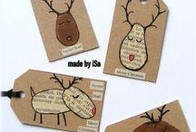 PAPER XMAS / paper xmas crafts, xmas printables, xmas cards, xmas tags
