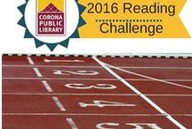 2016 Reading Challenge / Suggestions for the Corona Public Library 2016 Reading Challenge