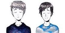 Dan and Phil / >•<