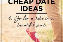 Cheap Date Night Ideas / Here are lots of great ideas for cheap or free date ideas.
