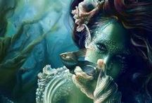 My obsession / Been obsessed with mermaids for as long as I can remember!