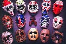 Les masques de gardiens de but - NHL / by Marc Fradette