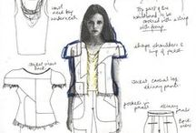 Fashion Sketchbook / A peek into the sketchbooks & journals of fashion designers and the fashion design creative process :: exploring design ideas and themes through sketches, layout and collage. Design is all about creative expression... / by Fashion Feud