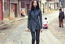 Model  Liu Wen  / by Thom Po