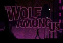 The Wolf among us! / I instantly fell in love with the game, when I saw youtubers play it, I haven't played it, but it's a game, what I would enjoy playing by myself too, but watching is good for now :) So, I actually made some fanart too, for Pewds, a while ago, and somehow it ended to be in his video!! He found it! I will link the vid here :)