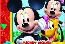 Cumpleaños Disney / #Mickey, #Minnie, #Donald, #Daisy, y amigos...