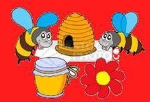 AS ABELLAS - LAS ABEJAS / Proyecto abejas y miel