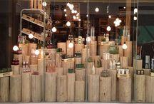 Shop visual merchandising inspirations / Visual merchandising ideas