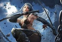 Illust. - Archer, Thief, Rogue