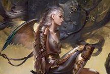 Illust. - Angels, Demons