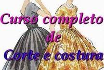 Corte e Costura / #corteecostura #diy #artesanato #modelagem #costura