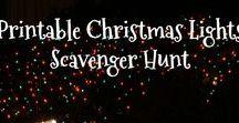 Christmas Scavenger Hunts / Printable Christmas Scavenger Hunts for Kids #ScavengerHunt #ChristmasScavengerHunt #Christmas #ChristmasGames #ChristmasPrintables