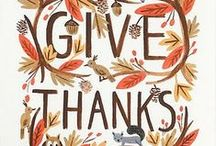 Thanksgiving/Gratitude / by Sweet Vanilla Bean