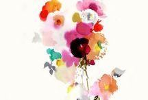 Watercolors galore  / by Chelsea Tweed