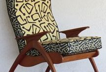 Modernist Australian Chairs / In the 1950s and 1960s Australia abounded in chair manufacturers. Their unique take on lounge seating was the TV chair and every Australian had at least one. Many varieties and styles were made, including recliners with a unique hinged steel frame peculiar to Australia. Shown are some chairs whose makers we are sure of. They represent a tiny part of what, at the time, was a huge market. As the clever folk at www.socialfabric.com.au can attest, they look fabulous recovered in modern fabrics.