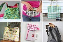 Sewing - Bag Tutorials / Handmade Bags