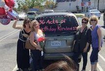 Birthday Random Acts of Kindness