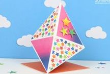 Trimcraft Card Shape of the Month / Each month we will feature a different #craft card shape and show you how easy it is to try a new #cardmaking style www.trimcraft.co.uk