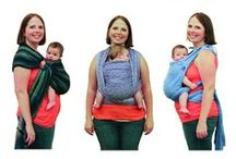 Babywearing is the BEST / There is almost no better way to bond with your baby than by wearing the little bundle.  Here are some of our favorite ways to carry your baby, from slings to soft structured carriers.